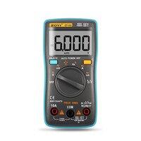 ZT101 ZT102 Digital Automatic Range Multimeter 6000 Counts Backlight AC DC Ammeter Voltmeter Ohm Portable Meter