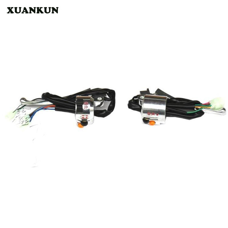 XUANKUN Monkeybike Motorcycle Handle Switch Before The