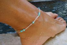 HOT New Fashion  bead chain link Fishbone anklet BEST  gift for  gril  friend  A-2