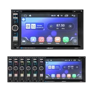 Image 5 - HEVXM 6610 Universal 6.2 inch Car DVD Navigation Player Car Radio Multimedia MP5 Play GPS Navigator Dual Spindle Car Video Play