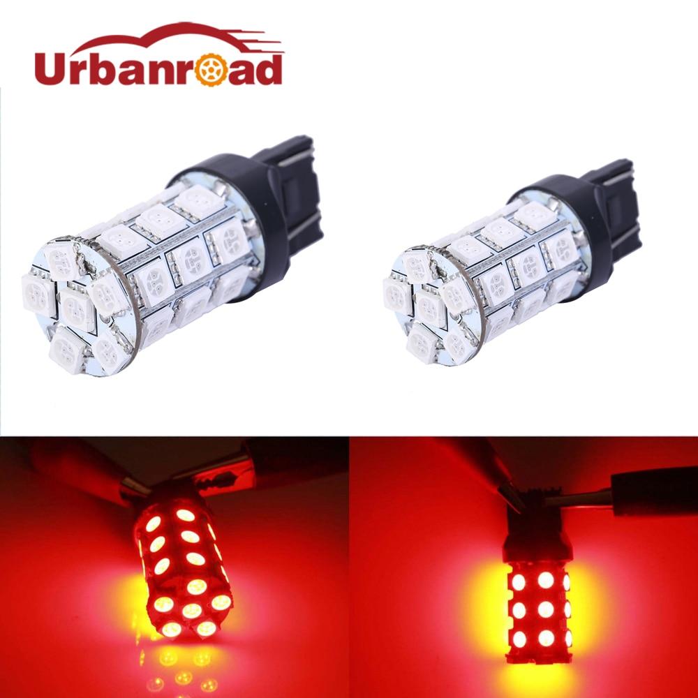 2шт/лот T20 светодиодные лампы w21w в 27 СМД 5050 дневные ходовые огни движения задним ходом сигнал свет лампы 7440 7441 992 992A