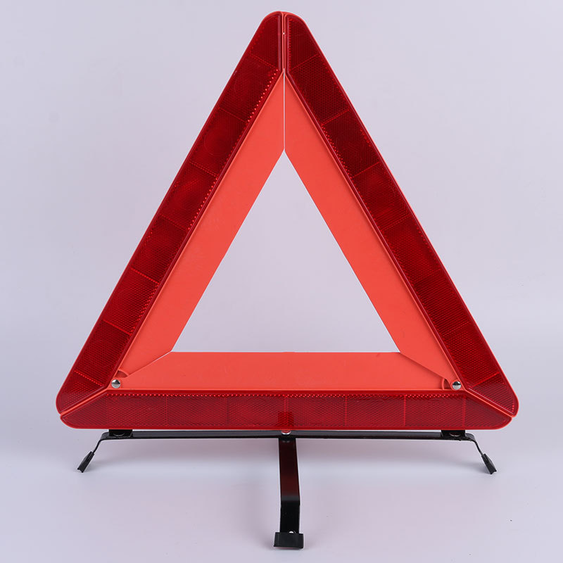 Auto Car Fold Warning Triangle Sign Stop Vehicle Danger Emergency Reflective Safety Parking Red Breakdown Stop Sign Reflector