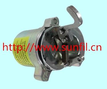 BF4M1011F Fuel shut off solenoid 0427 2733 skid steer loader,12V цена