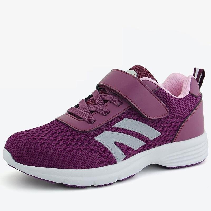 Fitness Sports Walking Shoes Male Breathable Antiskid Middle aAged Sports Shoes For Women Sneaker Travel Ventilation Jogging Men цены