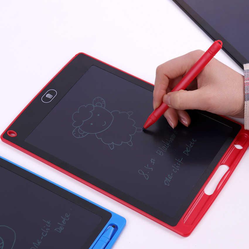 Multicolor LCD Writing Tablet//Light Energy Small Blackboard//Drawing Board Doodle Board 8.5 Inch Handwriting Paper Memorandum for Drawing Note Taking eWriter Green