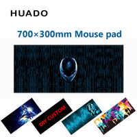 Gummi Gaming Maus Pad tastatur mousepad 700*300mm schreibtisch matte für welt der tanks/cs gehen /dota 2/steelseries/lol