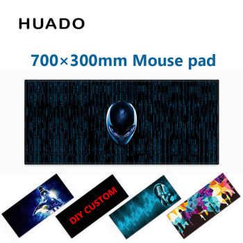 Rubber Gaming Mouse Pad keyboard mat mousepad 700*300mm desk mat for world of tanks/ cs go/ dota 2/ steelseries/lol - DISCOUNT ITEM  0% OFF All Category