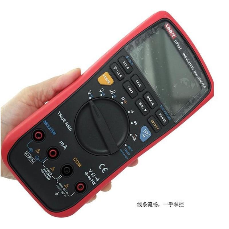 PRETTY 1x UNI-T UT531 LCD Insulation Digital Multimeter Volt Amp Ohm Capacitance Tester