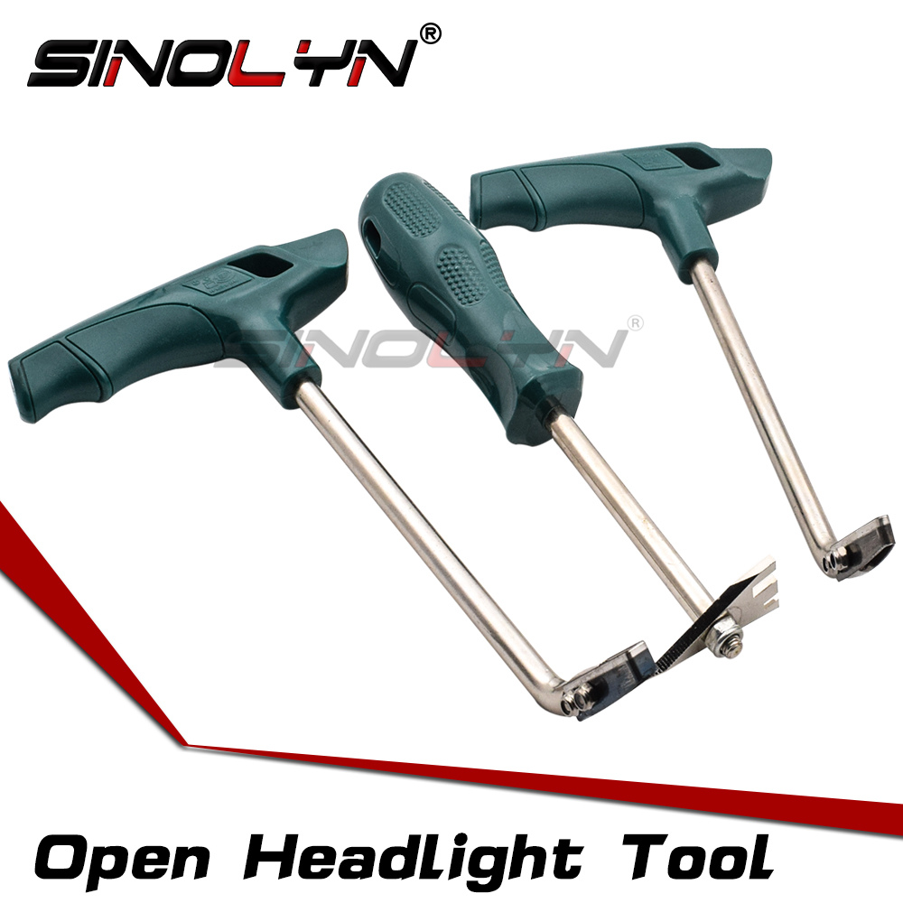 SINOLYN Open Headlight Housing Customs Permaseal Removal Tools Cold Glue Knife For Removing Melt Sealant From