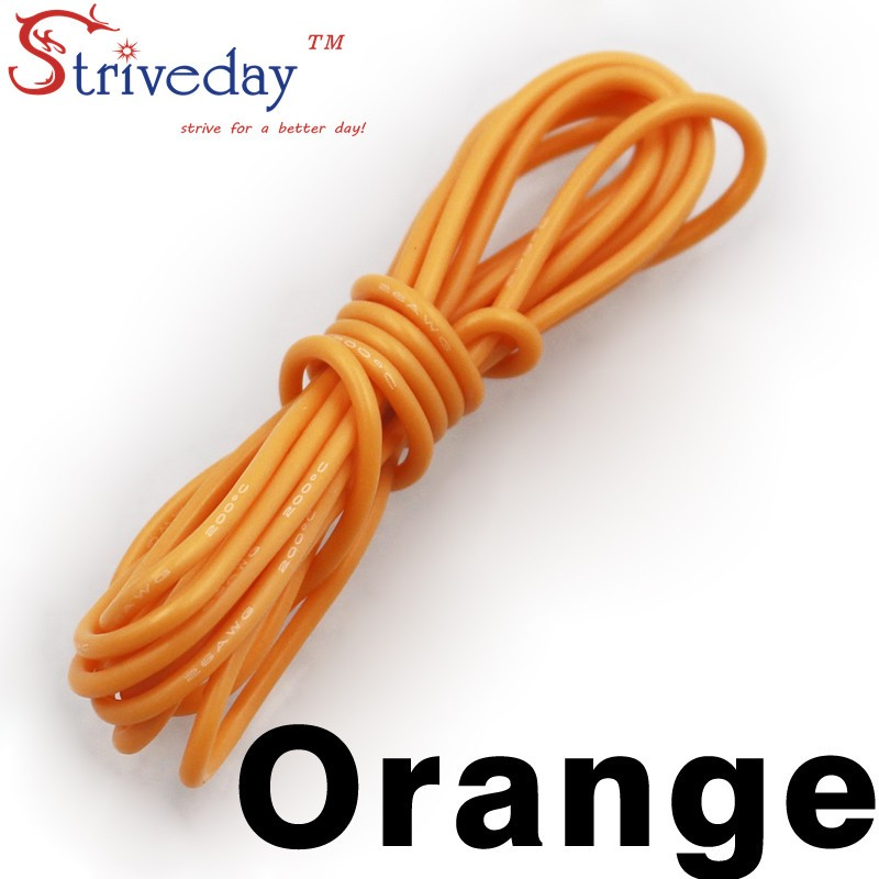 8AWG Flexible Silicone Wire RC Cable 8AWG 1650/0.08TS Outer Diameter ...