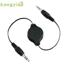 New 3.5mm Male to Male Car Aux Auxiliary Cord Stereo Audio Cable for Phone iPod januar10