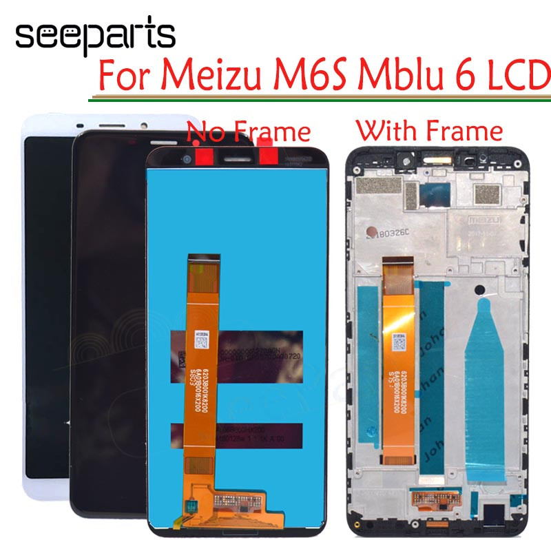 New Black 5.7 LCD Meizu M6s LCD Display Replacement + Touch Screen Digitizer Meizu Meilan S6 Phone LCD Case +ToolNew Black 5.7 LCD Meizu M6s LCD Display Replacement + Touch Screen Digitizer Meizu Meilan S6 Phone LCD Case +Tool