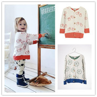 INS HOT 2017 BOBO CHOSES SPRING AUTUMN KIDS FOOTBALL PATTERN OUTWEARS BABY BOY CLOTHES KIDS JACKETS