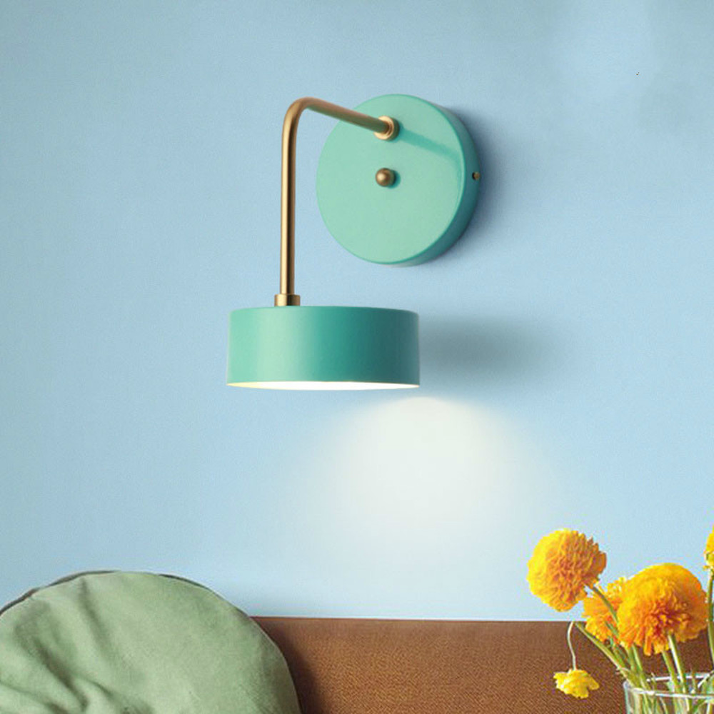 Moderno e minimalista soggiorno lampade da parete camera da letto creativa lampada da comodino lampada da studio personalizzato corridoio led Ma Lungo Drago LU8111642