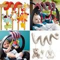 Bonito espiral atividade stroller assento de carro berço torno pendurado viagem babyplay toys chocalhos infant toys 2015 nova chegada do bebê recém-nascido