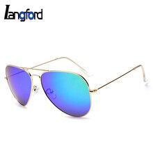 Classic Way frame pilot  polarized  sunglasses UV-RAY colourful  mirror lenses