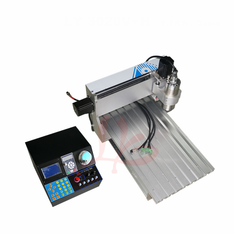 0.8kw spinlde cnc router 6040 4 axis cnc milling machine ball screw cnc engraver