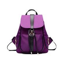 Нейлон женщин сумки шпагатом женская рюкзак рюкзаки для девочек-подростков летом рюкзак сумка женщины водонепроницаемый ME692