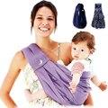 Excelente! de Alta Calidad de Algodón Orgánico + Esponja Porta Bebé Honda Del Bebé Mochila Porta Bebé/Baby Tirantes Buena Protección