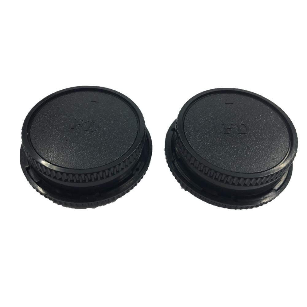 LXH 2-pack framkropps kroppslock och bakre linsskyddslock till Canon - Kamera och foto - Foto 6
