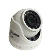 Купольная мини камера, металлический чехол, AHD 1.0MP 1.3MP 2MP 4MP внутренний/наружный водонепроницаемый ИК фильтр с ночным видением для камеры видеонаблюдения
