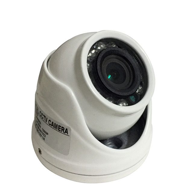 Mini Dome Camera Metal Case AHD 1.0MP 1.3MP 2MP 4MP Indoor/Outdoor Waterproof IR Cut filter Night Vision For CCTV Security Cam