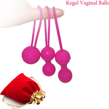 Silicone Vaginal Chinese Smart Kegel Balls Sex Toys For Women Vagina Tighten Shrinking Ball For Pussy Geisha Balls Sex Products