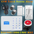 FUERS Android IOS APP remote control GSM Alarm System Home Security Russian Spanish French English Voice Prompt Security Alarm