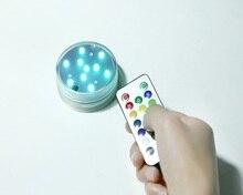 1 unids Seguridad Impermeable Interruptor Accesorios Narguile Shisha Batería Operado de Luz Led con Control remoto