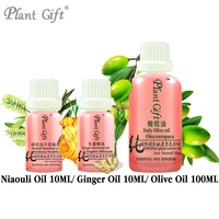 Free Shopping100 Pure Plant Essential Oil Niaouli Ginger Olive Oil Clean Wounds Cajuput Oil Excited Effect
