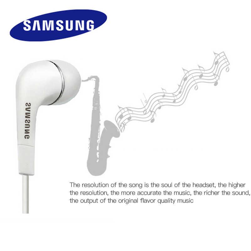 Słuchawki Samsung EHS64 słuchawki z wbudowany mikrofon 3.5mm douszne słuchawki przewodowe do smartfonów z bezpłatnym prezentem