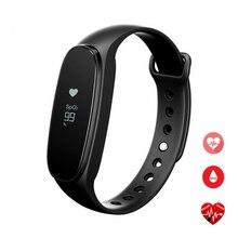 Бонг 3 HR Спорт Smart Band сердечного ритма сна Мониторы Водонепроницаемый IP67 Приборы для измерения артериального давления браслет для Android и IOS