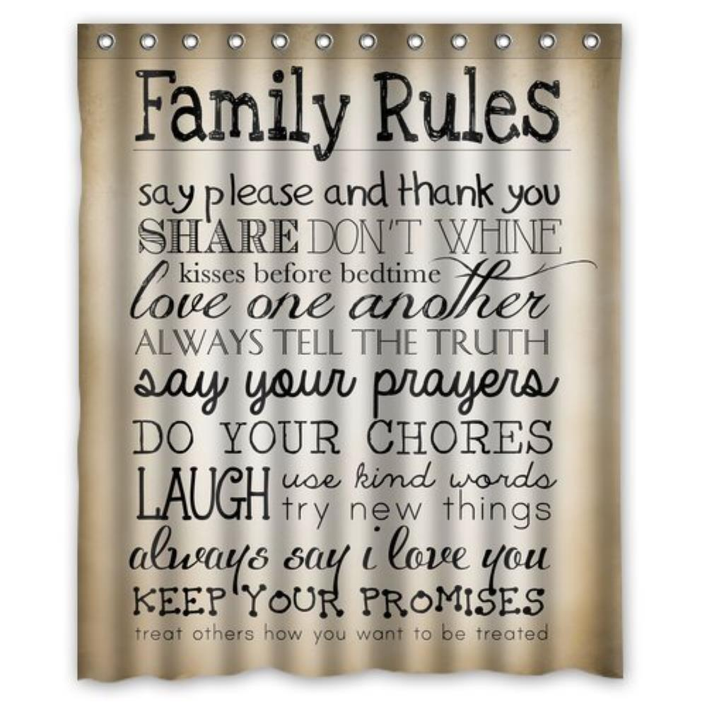 family rules Welcome to my family rules we are a small midlands-based company, focused on printing bring your new family together with our matching designs of adult and child's t-shirts and baby bodysuits.