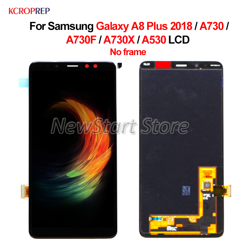 No Frame For Samsung Galaxy A8 Plus 2018 A730 LCD Display Touch Screen Assembly 6.0 For Samsung A730 A730F A730X A530 lcdNo Frame For Samsung Galaxy A8 Plus 2018 A730 LCD Display Touch Screen Assembly 6.0 For Samsung A730 A730F A730X A530 lcd