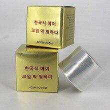 1 barrera de bordado de tatuaje semipermanente de Corea del Sur película adhesiva
