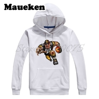 Men Hoodies Strong Pittsburgh Steamroller Steeler Sweatshirts Hooded Thick for Steelers fans gift Comic Cartoon Winter W17112909