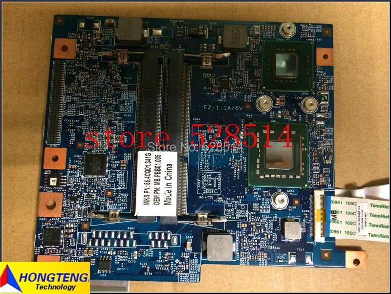 Original 48.4CQ01.02N JM41 MB For Acer Aspire 4810T 4810TZ Laptop Motherboard MBPEE01001 100% Test ok