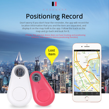 Smart Remote Control Anti Lost Keychain Alarm Bluetooth Tracker Key Finder Tags Localizador GPS Locator No Battery