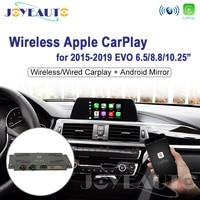 Joyeauto WIFI Wireless Apple Carplay Car Play 1 2 3 4 5 7 series X3 X4 X5 X6 EVO F20 F30 F36 G30 F25 F15 for BMW Android Mirror