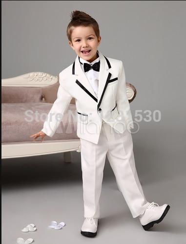 f578cef03 Juegos de los muchachos para bodas Infantil Terno Casamento traje smoking  traje de novia para niño