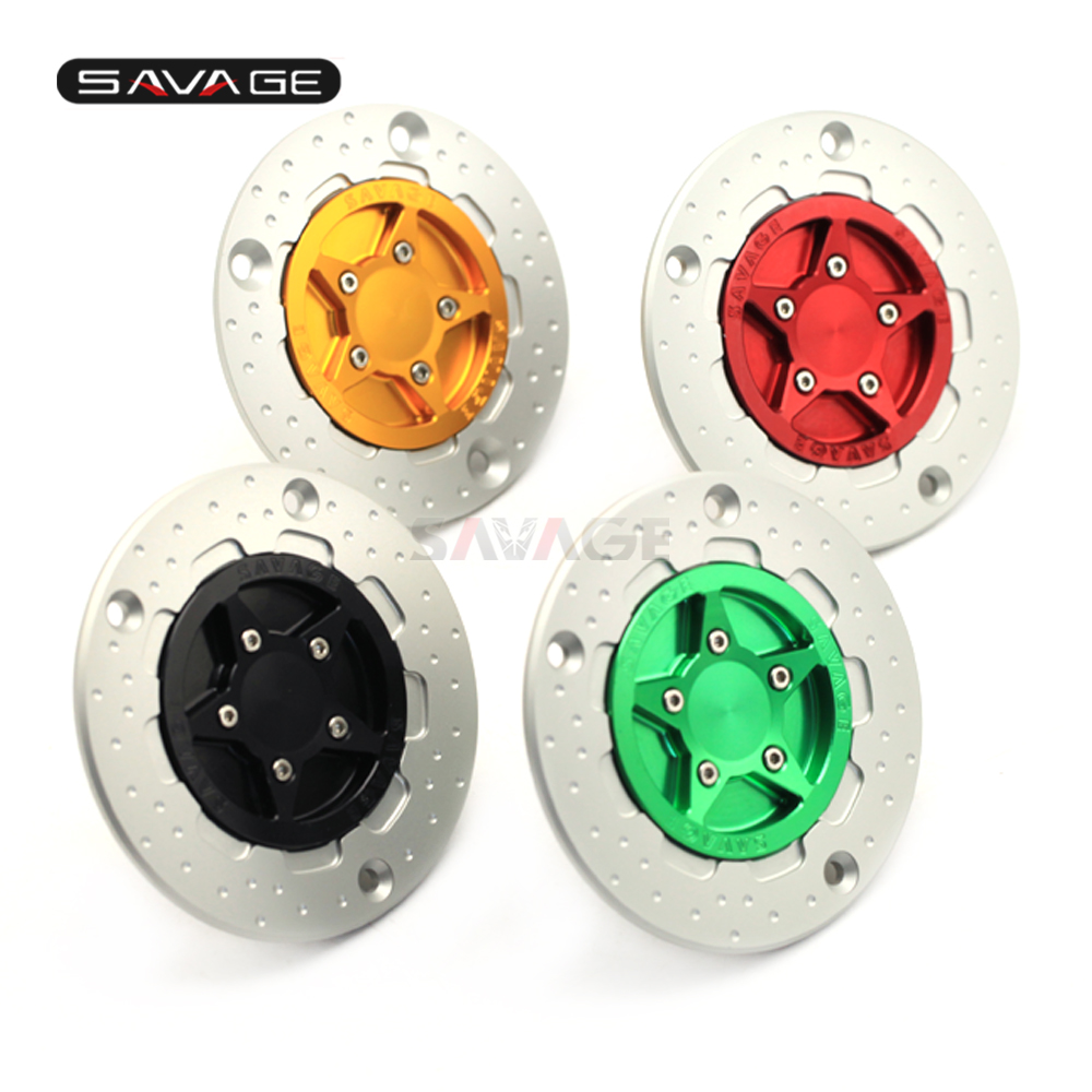 Fuel Gas Tank Cap For KAWASAKI ZZR GTR 1400 ER-6N ER-6F VERSYS 650/1000 VULCAN S 650 Motorcycle Accessories Fluid Oil Keyless brand new key motorcycle replacement keys uncut for kawasaki versys 650 klr 650 c a w 650 z750 z1000 z800 er 6n er6f zr1000 zx 6