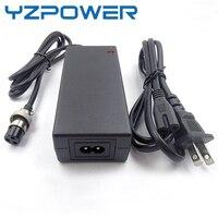 Yzpower 63 v 1a 15 s carregador de bateria lítio para xiaom inteligente scooter ninebot skate scooter lypomer bateria