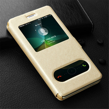 Luxury Flip Leather Case for Meizu M3 note Cases Meizu M3S case Mini With Window View Flip Cover Stand Holder Phone Cases p25 стоимость