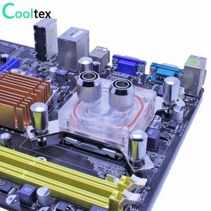 Image 2 - Bloc de refroidissement à eau pour ordinateur intel LGA 775/115x/1366/2011 X99 X79, bloc de refroidissement à eau dunité centrale