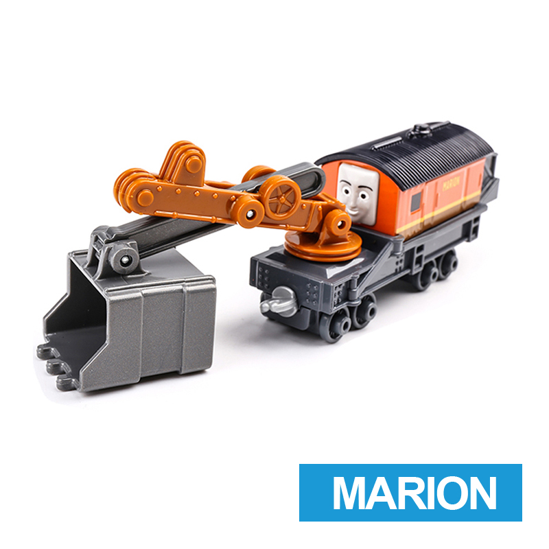 x9 Gift 1: 64 Vehicles Diecasts Thomas with hook Marion Thomas And Friends Magnetic Thomas Truck Engine Train Toys For Boys
