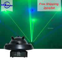 New Products Laser Beam Light 9 Lens Stage Laser Light Beam DMX Red Green Blue DJ Disco Party Show Lighting