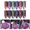 6 Boxes 0 2g BORN PRETTY Chameleon Holo Flakes Glitter Powder Laser Nail Flakies Sequins Holographic
