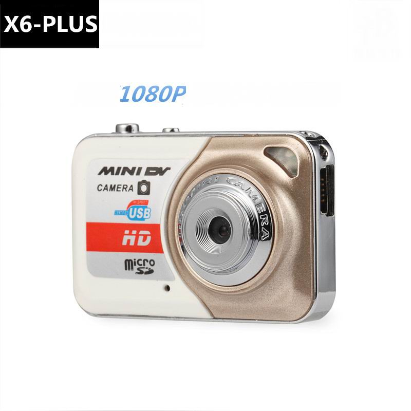 DOITOP X6-Plus Mini DV Digital Camera Video Recorder Shooting Device 1920*1080 HD Camera Portable Travel Photograph For Kids Pet