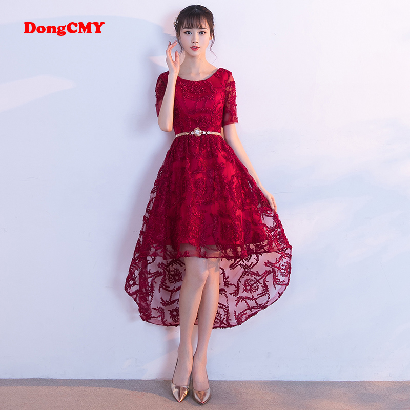 DongCMY 2019 new arrival  sexy sweetheart elegant party Cocktail dress