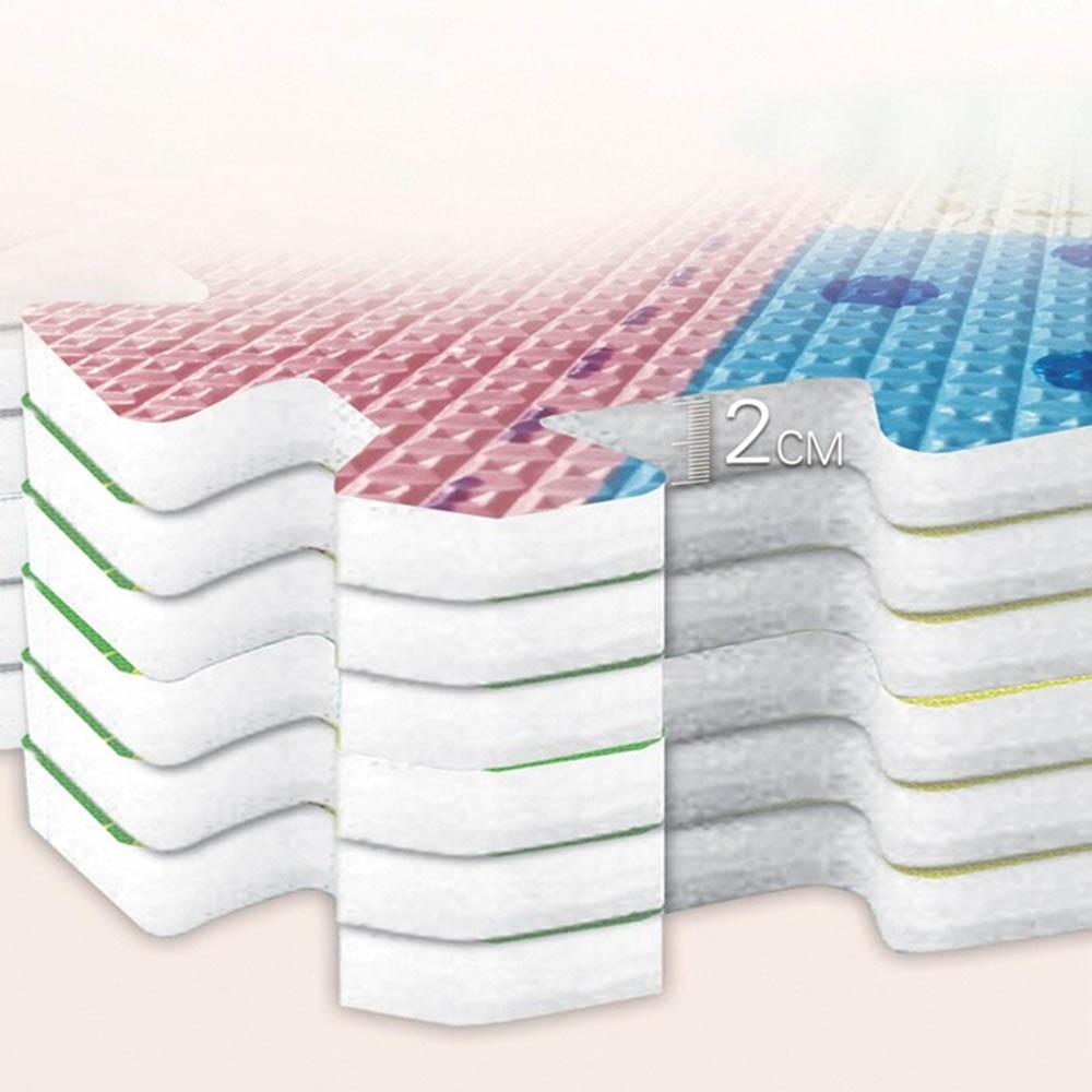 Tapis de motif Animal de bande dessinée tapis de Puzzle en mousse EVA tapis de jeu pour enfants tapis de jeu pour enfants - 4